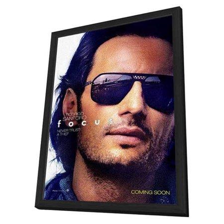 Focus (2015) 27x40 Framed Movie Poster - Walmart.com