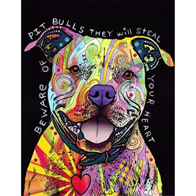 Bull Terrier Dog Wall Sticker Decal Animals Wall Decals Dogs and Pets Wall Stickers Kids Stickers Wall Decals Wall Art