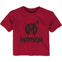 Florida Mayhem Toddler Overwatch League Team Identity T-Shirt - Red