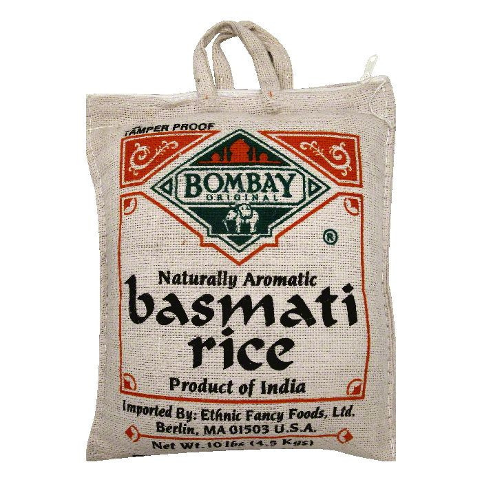 Ethnic Fancy Foods Bombay Original Rice, 10 lb