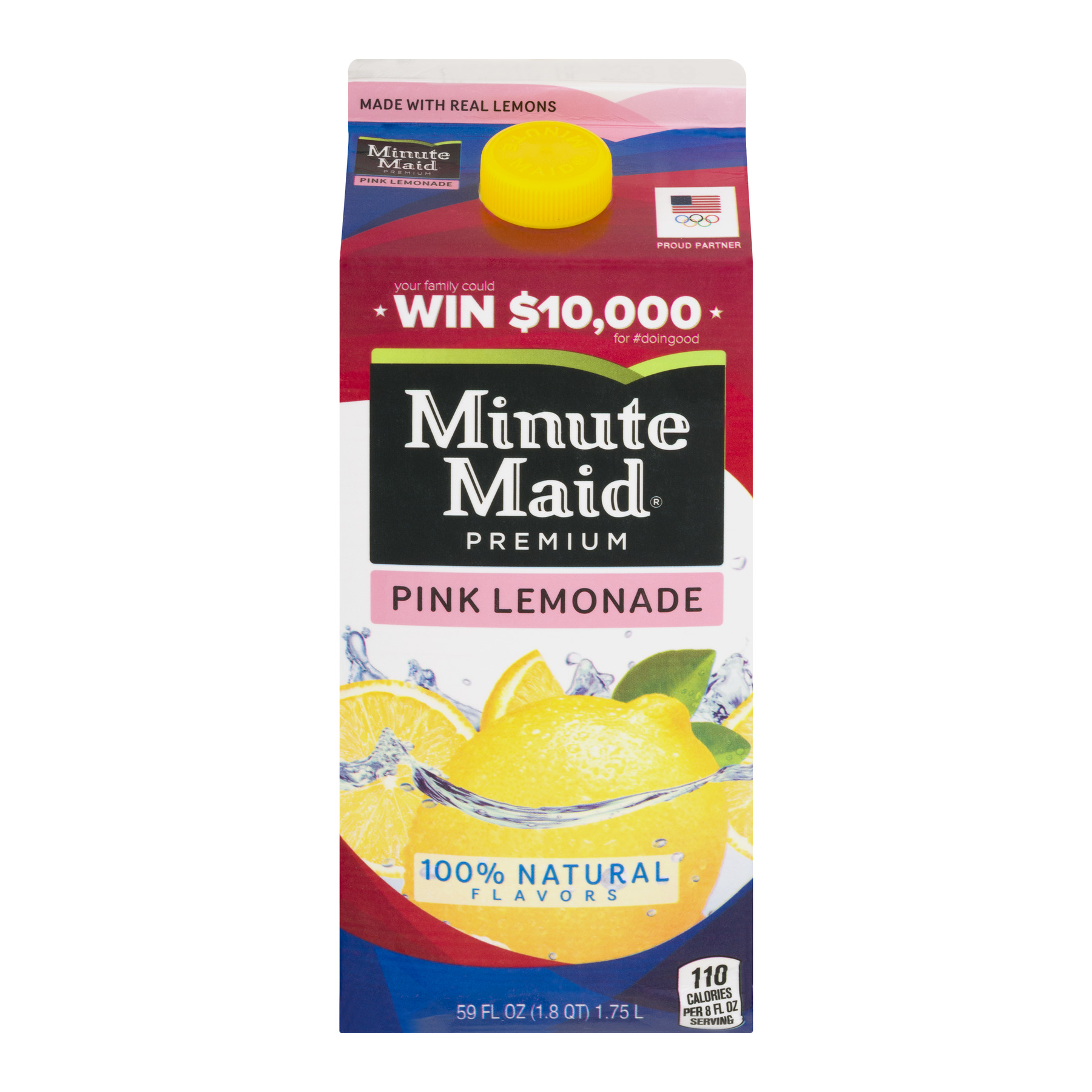 Minute Maid Premium Pink Lemonade, 59.0 FL OZ
