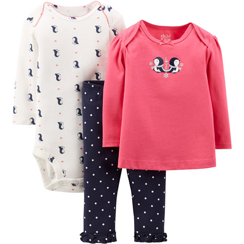 Child Mine Three Piece Set Penguin Walmart
