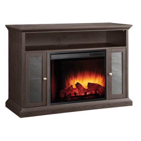 Pleasant Hearth Riley Media Electric Fireplace For Tvs Up To 48   Espresso
