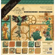 Graphic 45 G4501165 Deluxe Collectors Edition Pack 12 x 12 inch - Steampunk Debutante