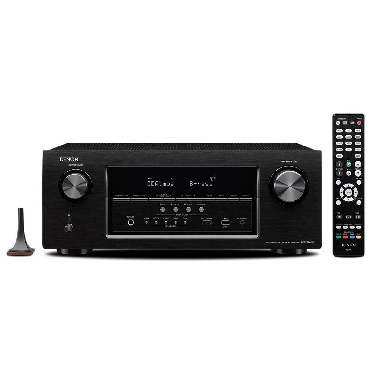 2 channel receiver with bluetooth