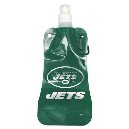 - NFL New York Jets Foldable 16oz Water Bottle (2 Pack)