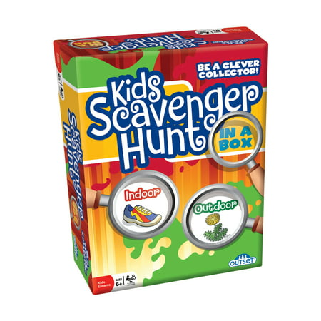 Kids Scavenger Hunt in a Box (Best Scavenger Hunt Items)