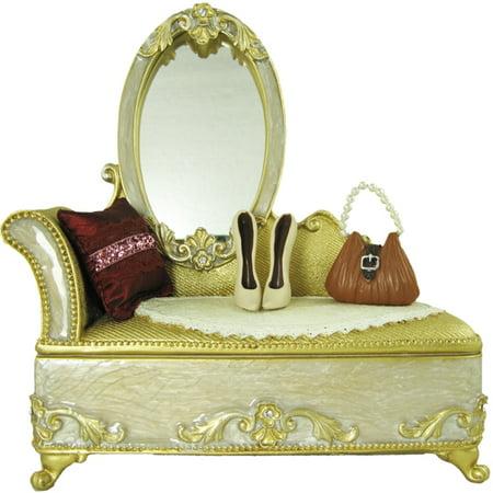 Victorian Dresser Jewelry Box Ring Organizer (Victorian Jewellery)