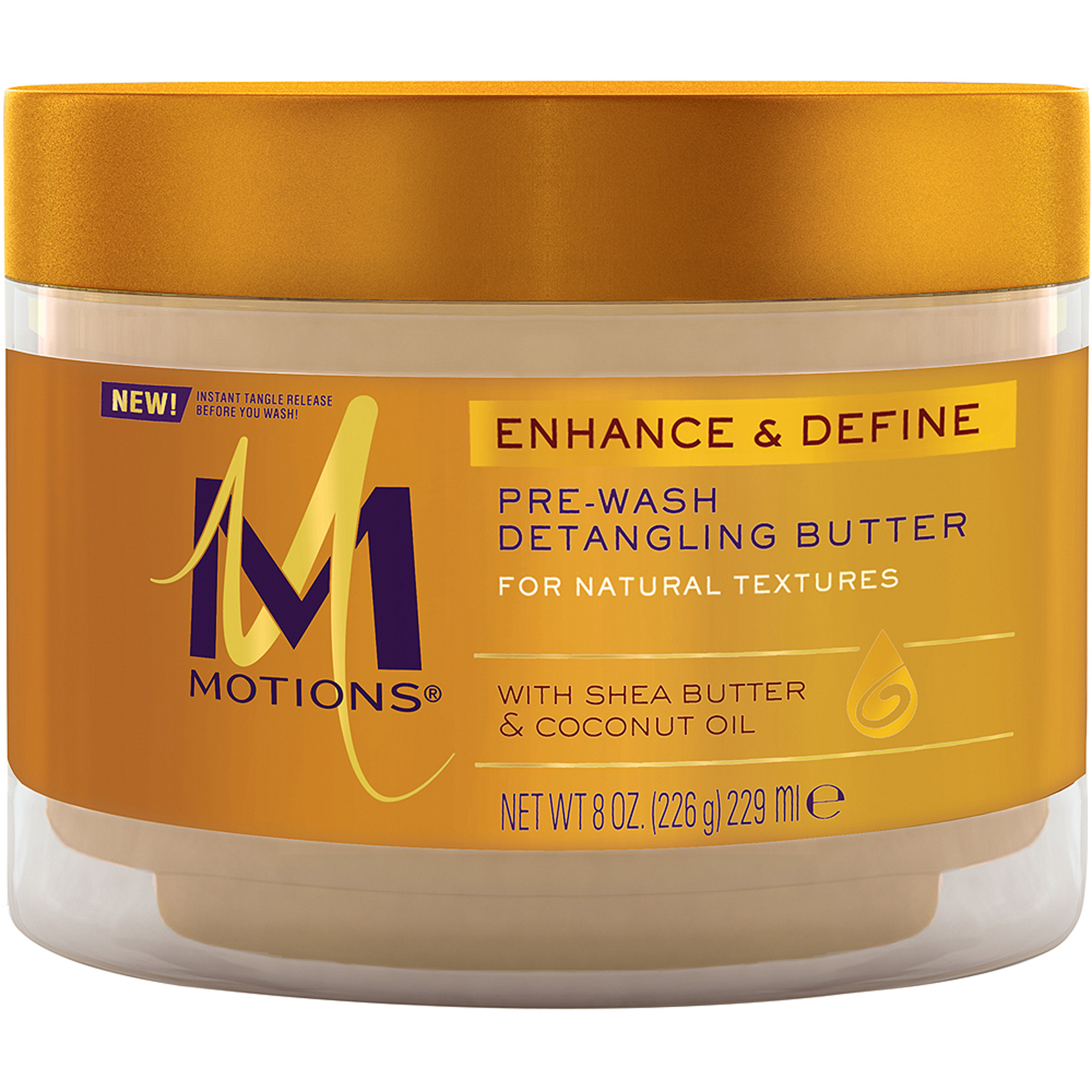 Motions Enhance and Define Pre-Wash Detangling Butter, 8 oz