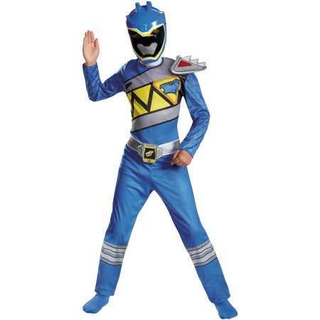 Blue Ranger Dino Classic Child Halloween - Power Rangers Costume Accessories