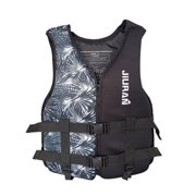 Pudcoco Children Outdoor Life Jacket Adults Life Vest with Hidden Pocket