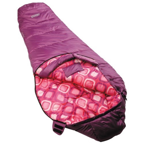Coleman Youth Girls Mummy Sleeping Bag