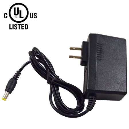 AC DC Power Supply Adapter AC 100-240 Volts 50/60Hz DC 12 Volts 2 Amp UL Listed