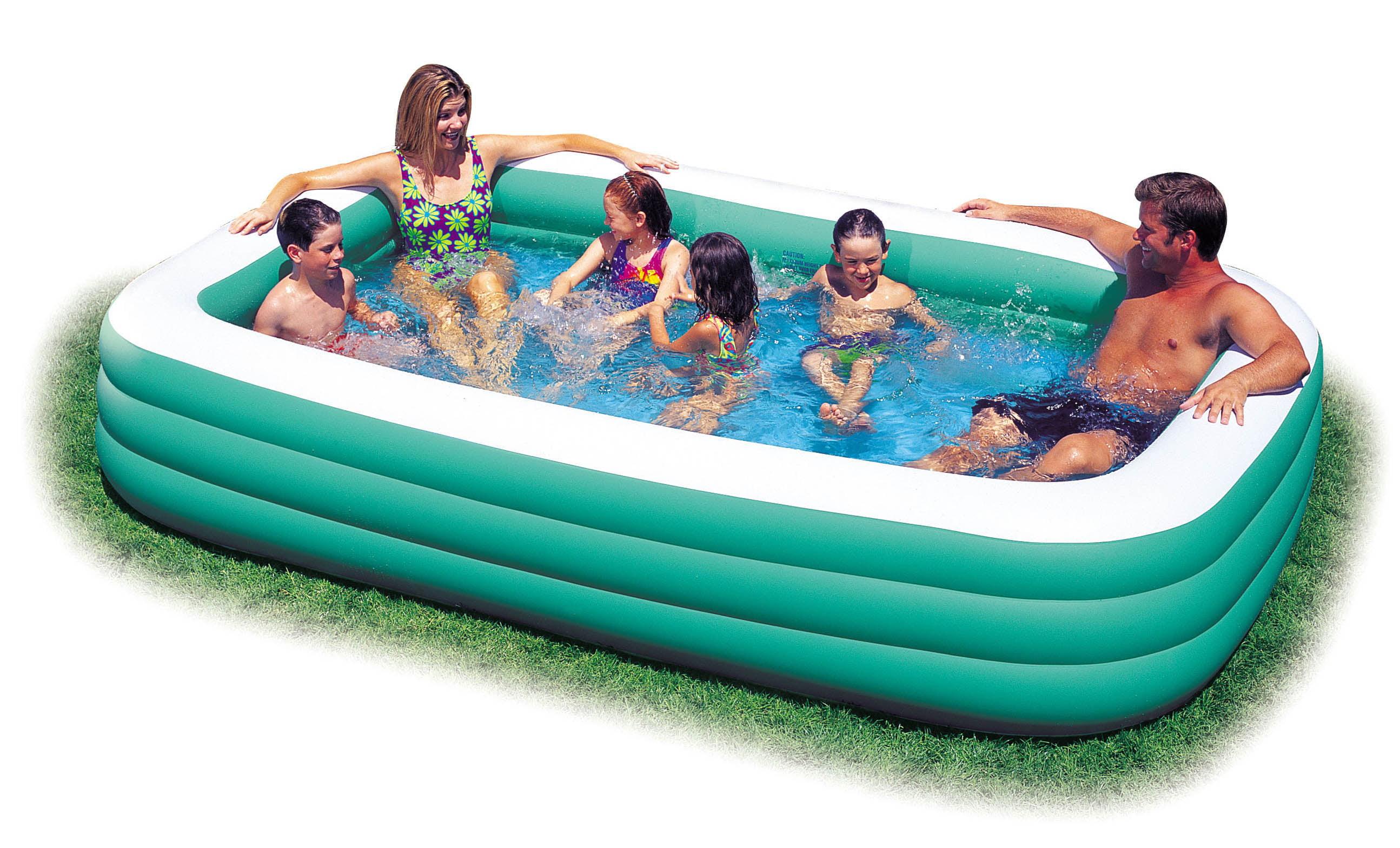 Petite piscine gonflable intex - Maison mobilier et design