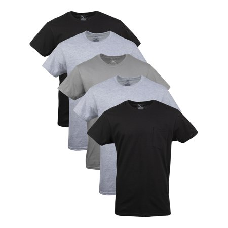 George Men's Pocket T-Shirts, 5-Pack