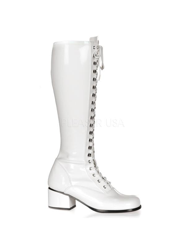RET302/W Funtasma Women's Boots WHITE Size: 12