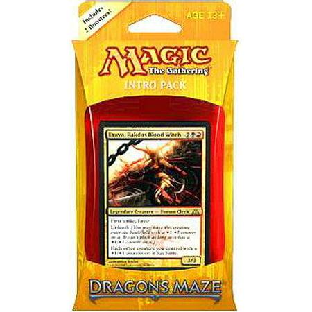 MtG Dragon's Maze Rakdos Revelry Intro Pack - Morgue Sign