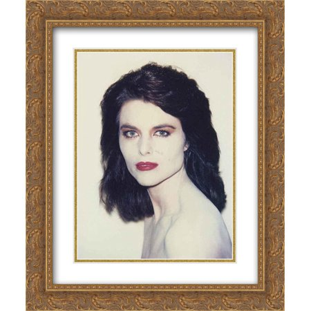 Andy Warhol 2X Matted 20X24 Gold Ornate Framed Art Print Maria Shriver