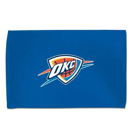 Oklahoma City Thunder Official Nba 15 Inch X 25 Inch  Sport Towel By Mcarthur