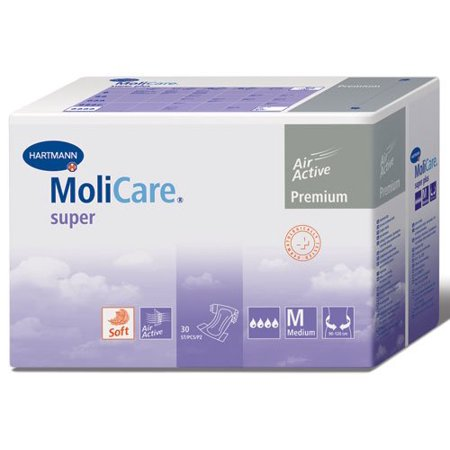MoliCare Premium Soft Super Adult Briefs - Large 30/bg, MoliCare Premium Soft Super Adult Briefs - Large 30/bg By Hartmann Ship from US