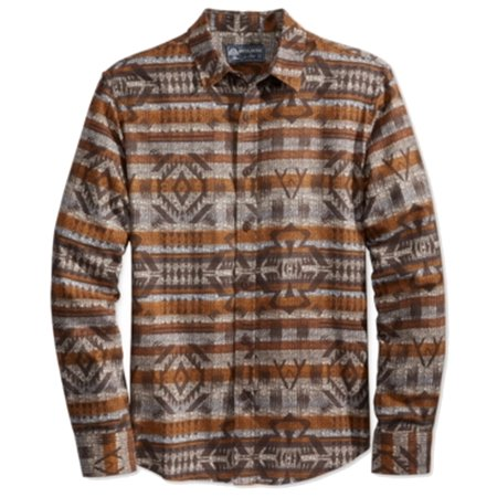 Fair Isle Tie (NEW Beige Men Medium M Fair Isle Blanket Button Down)