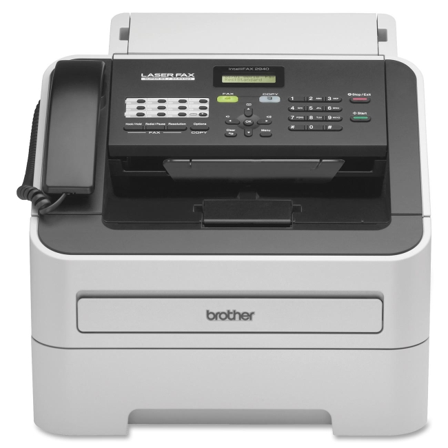 Brother IntelliFAX FAX-2940 Laser Multifunction Printer Monochrome Plain Paper Print Desktop Copier Fax Printer  by Brother