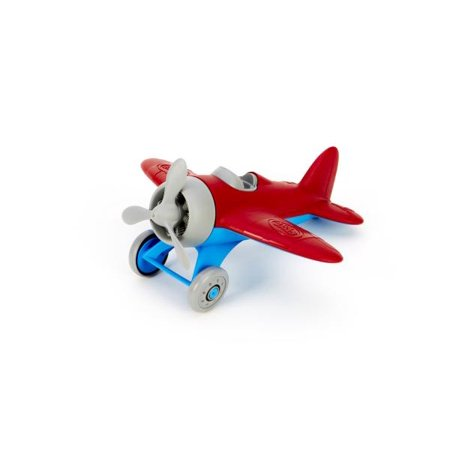 Aboard Airplanes (Green Toys Airplane, Red)