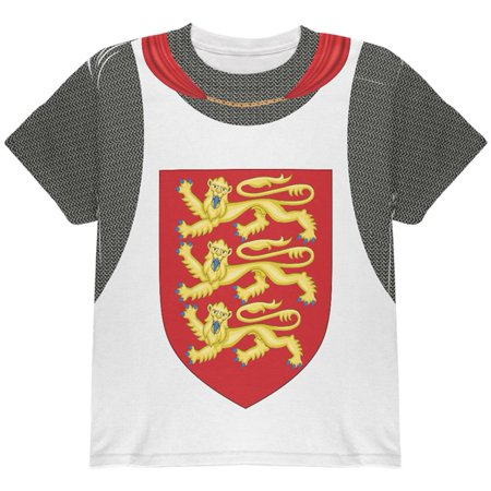 King Richard Lionheart Knight Costume All Over Youth T