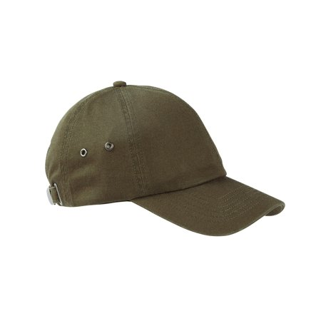 Branded Big Accessories Washed Baseball Cap - OLIVE - OS (Instant Saving 5% & more on min 2)