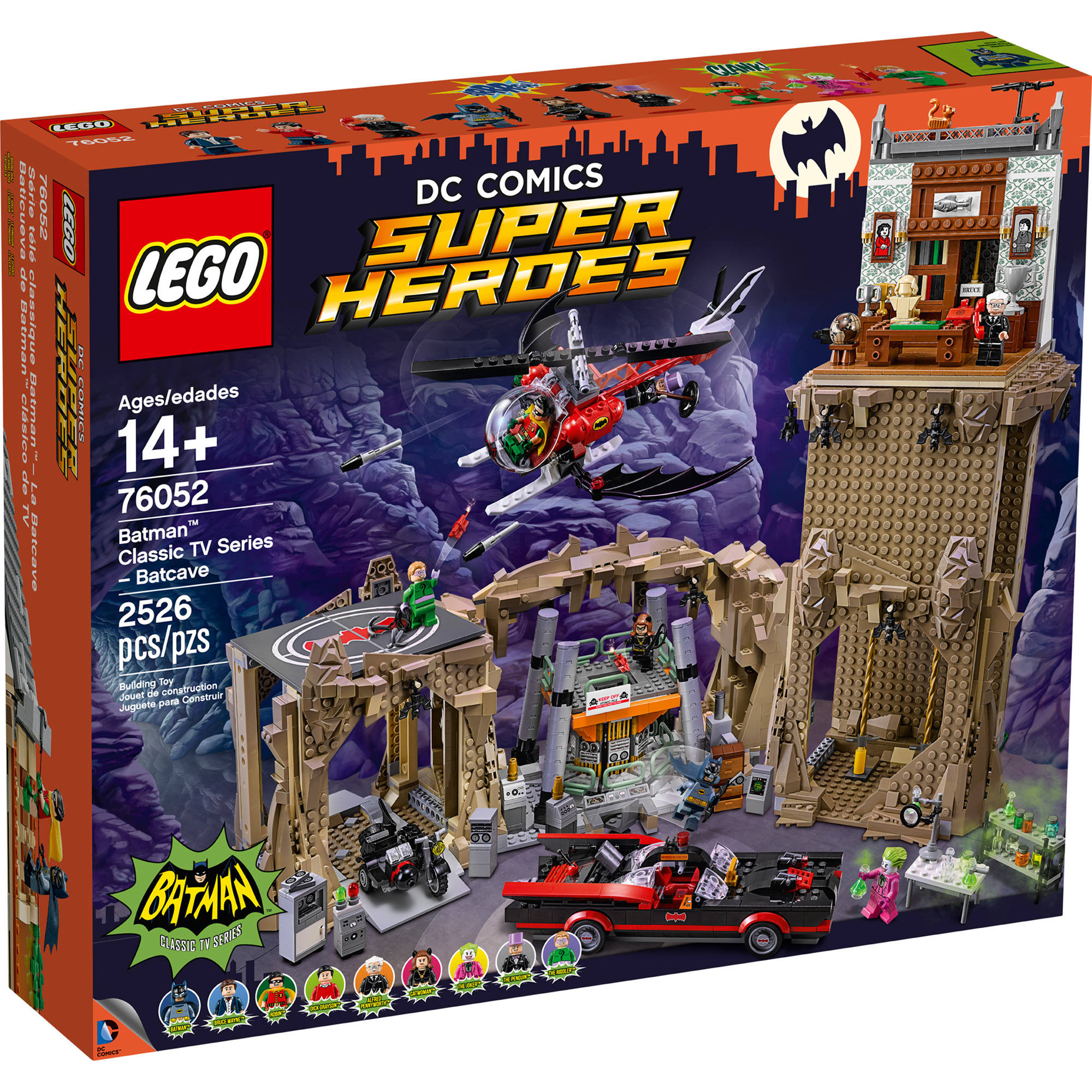 Lego Super Heroes Batman Classic TV Series-Batcave 76052 by LEGO Systems, Inc.