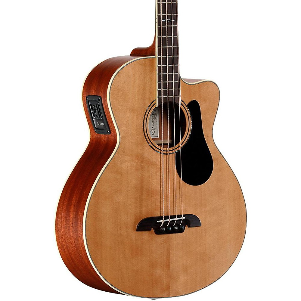 Alvarez Artist Series AB60CE Acoustic-Electric Bass Guitar Natural by Alvarez