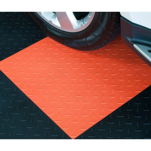Flooring Diamond Top Interlocking Tiles