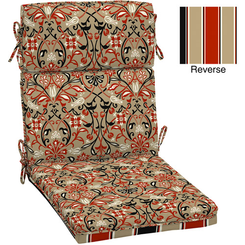Better Homes and Gardens Dining Chair Outdoor Cushion, Tulip Scroll
