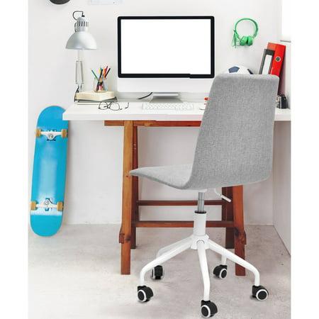 Amazing Urban Shop Rolling Linen Swivel Office Chair Multiple Cjindustries Chair Design For Home Cjindustriesco