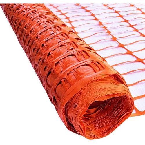 ALEKO SF6535OR3X165 Multipurpose Safety Fence Barrier PVC Mesh Net Guard, 3' x 165',... by ALEKO