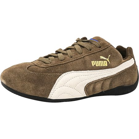 b7703815a7 Puma - Puma Men s Speed Cat Kangaroo   Snow White Ankle-High Suede Running  Shoe - 7.5M - Walmart.com
