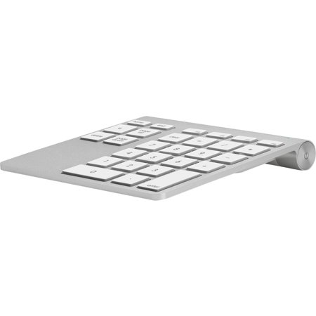 Belkin Yourtype Bluetooth Wireless Keypad - Wireless Connectivity - Bluetooth - 28 Key - Compatible With Notebook, Desktop Computer, Server (mac) (f8t068ttapl)
