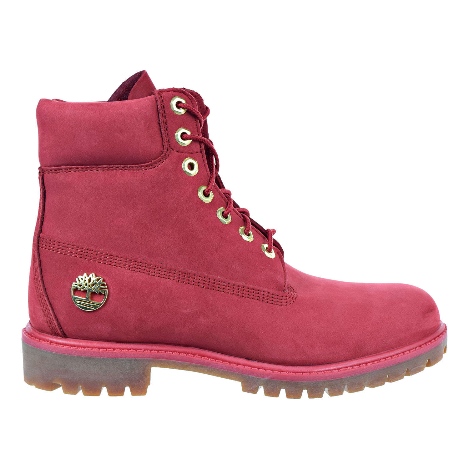 Timberland 6 Inch Premium Waterproof Men's Boots Redtb0a1jlt by Timberland