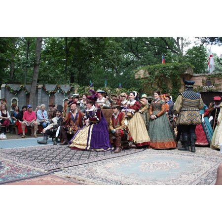 LAMINATED POSTER Traditional Renaissance People Carnival Festival Poster Print 24 x 36](Renaissance Festival Outfits)