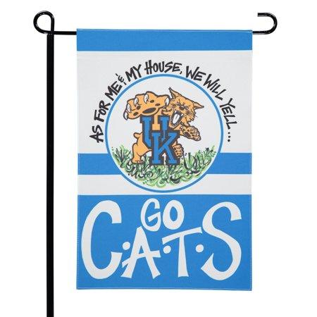 "Kentucky Wildcats 12"" x 18"" Team Double-Sided Garden Flag - No Size"
