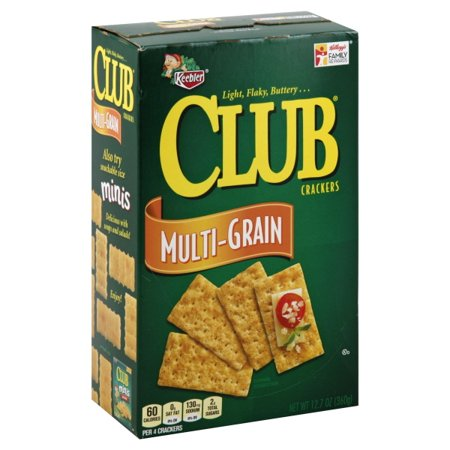 Keebler Club Multi-Grain Crackers, 12.7 Oz.