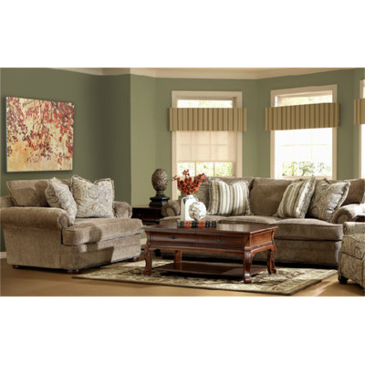 Bundle-08 Klaussner Furniture Toby Living Room Collection (3 Pieces)