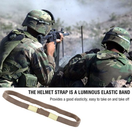 Military Helmet Strap,Ymiko Reflective Camo Strap Helmets Band for M1 M88 MICH Military -