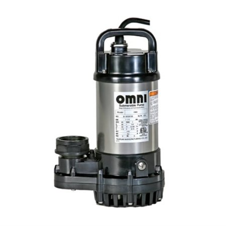 Tsurumi 2-OM - 2,400 GPH Pond & Waterfall Pump with 1/5 HP
