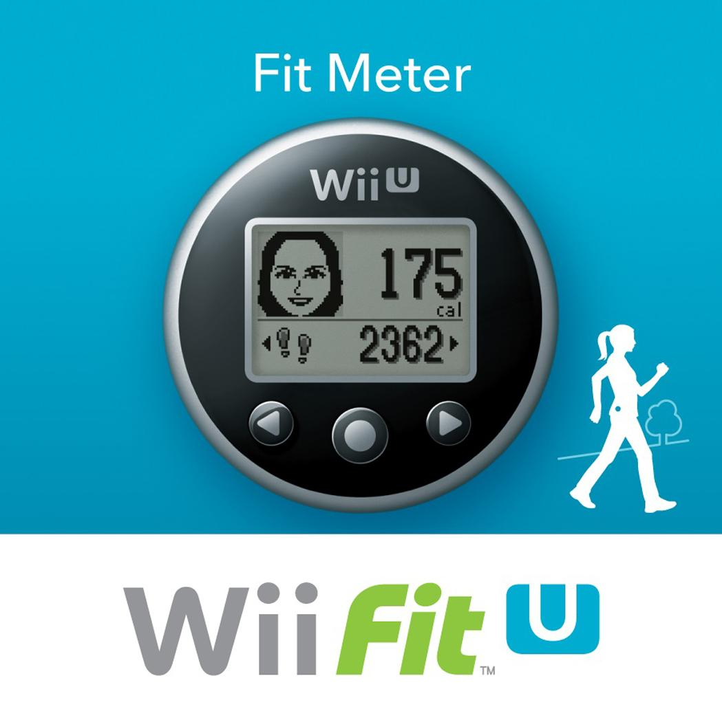 Wii U Fit Meter With Wii Fit Game