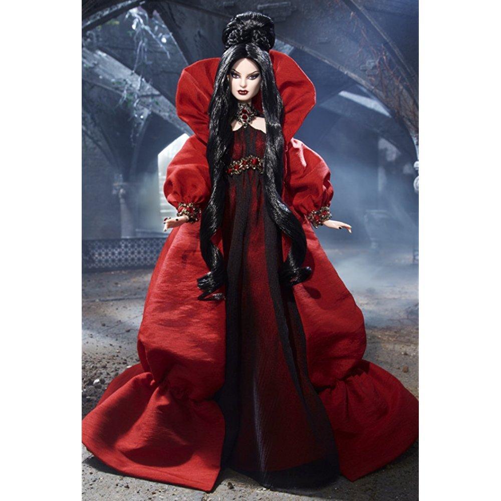 Mattel haunted beauty vampire barbie doll