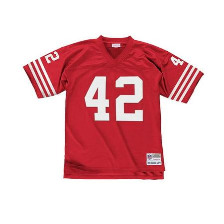 Ronnie Lott 1990 Mitchell  amp  Ness San Francisco 49ers Men s Replica  Jersey ... 23e1124f7