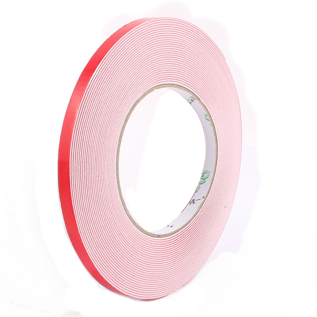 8MM Width 10M Length 1MM Thick White Dual Sided Waterproof Sponge Tape for Car