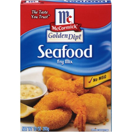 (3 Pack) McCormick Golden Dipt Seafood Fry Mix, 10