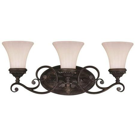 - Vaxcel W0303 Avenant Venetian Bronze Bathroom Light